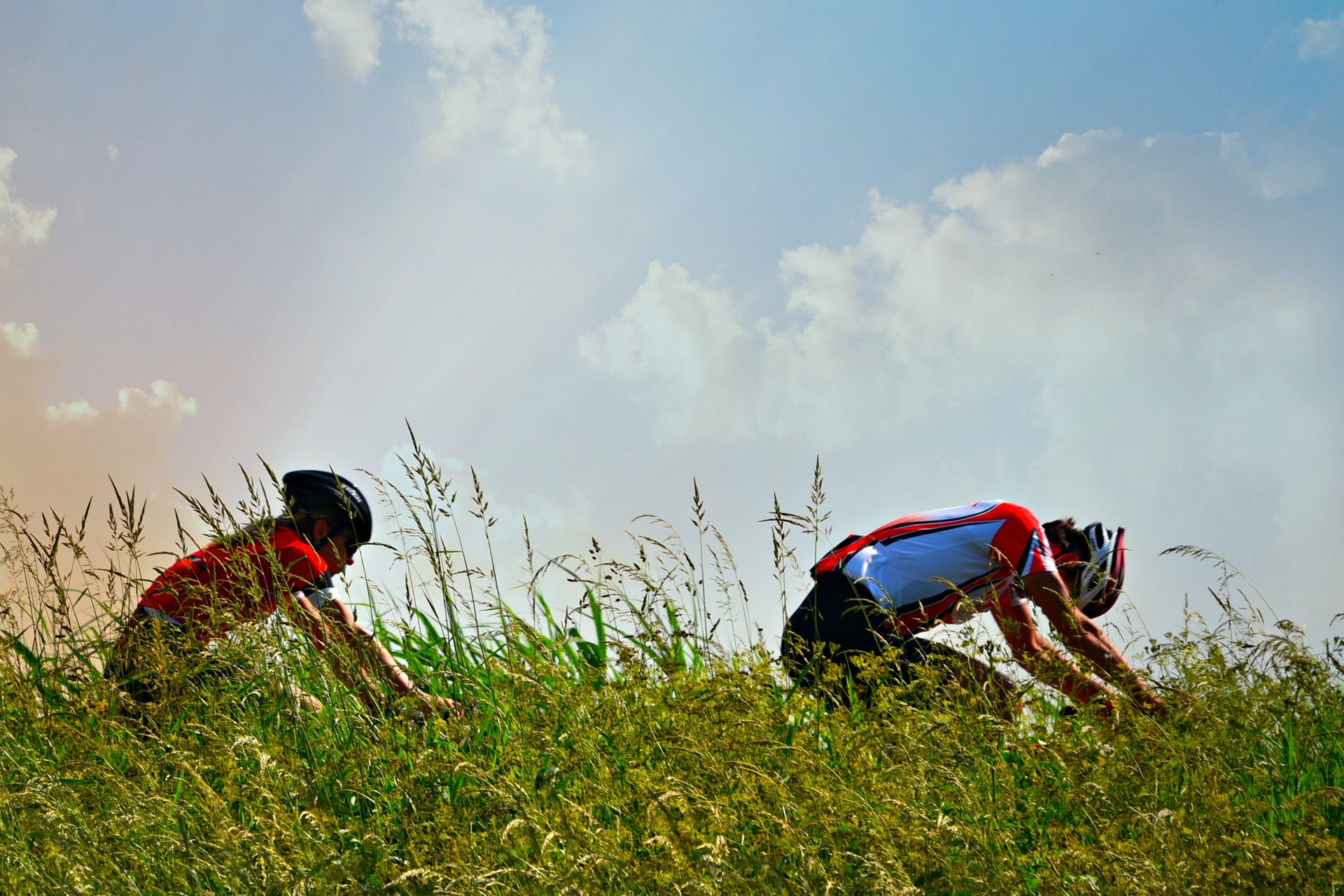 effort cycliste