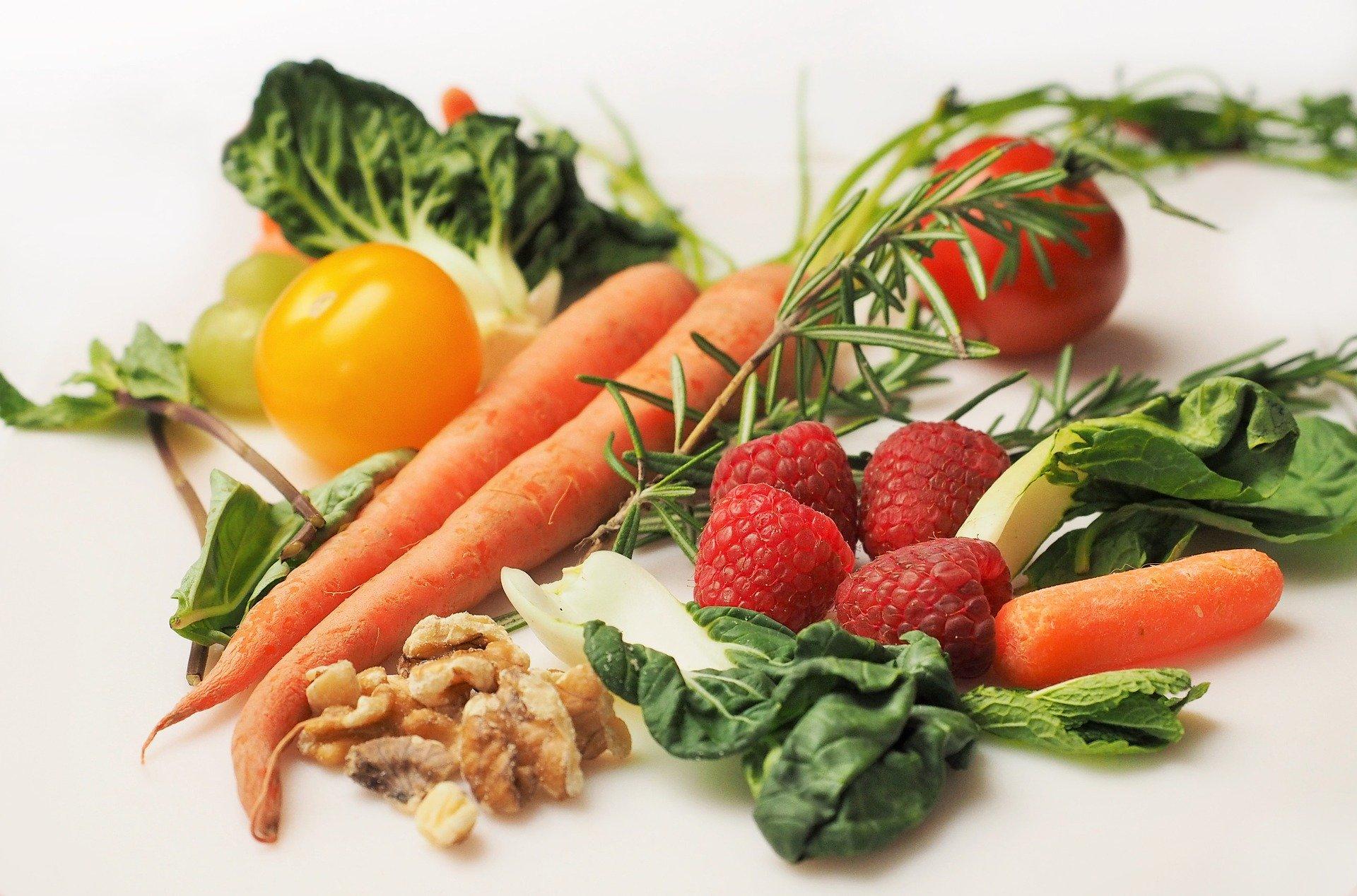 aliments colores
